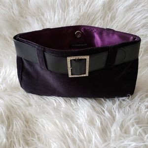 Victoria's Secret Bags - Victoria Secret black velvet buckle purse